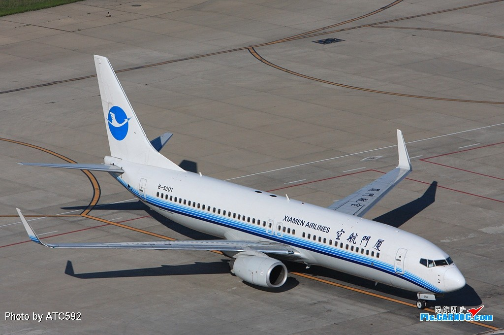 Re:[原创]转换阵地——到西边啦~~ BOEING 737-800 B-5301 中国北京首都机场