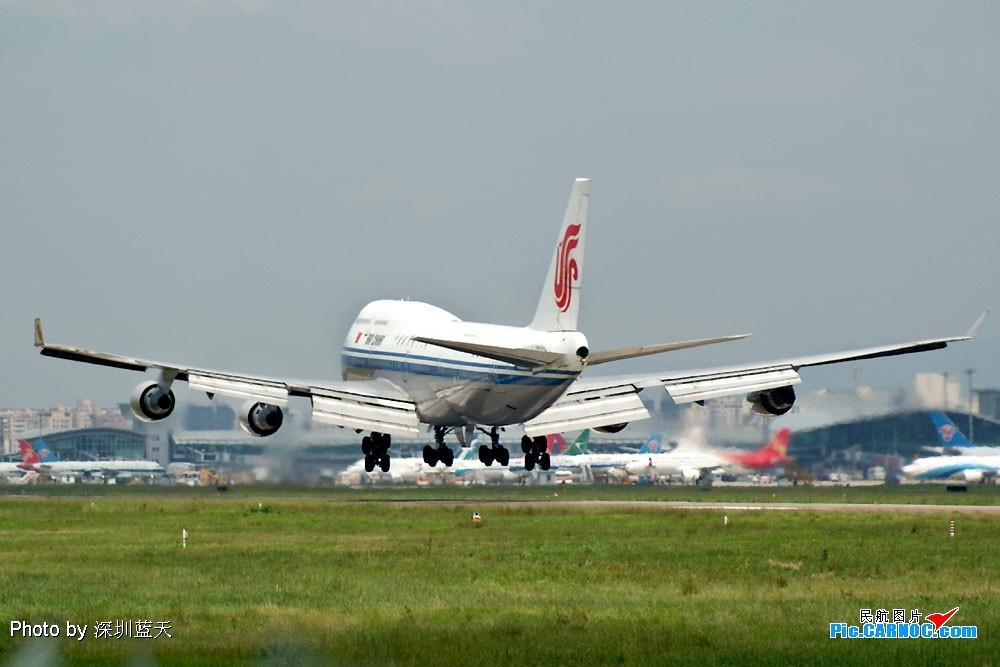 Re:[原创]【深圳打机队】国航747之B-2456打头阵 BOEING 747-400 B-2456 中国深圳宝安机场