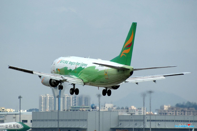 Re:[原创]【深圳打机队】国航747之B-2456打头阵,少见的擦烟! BOEING 737-300F B-5053 中国深圳宝安机场