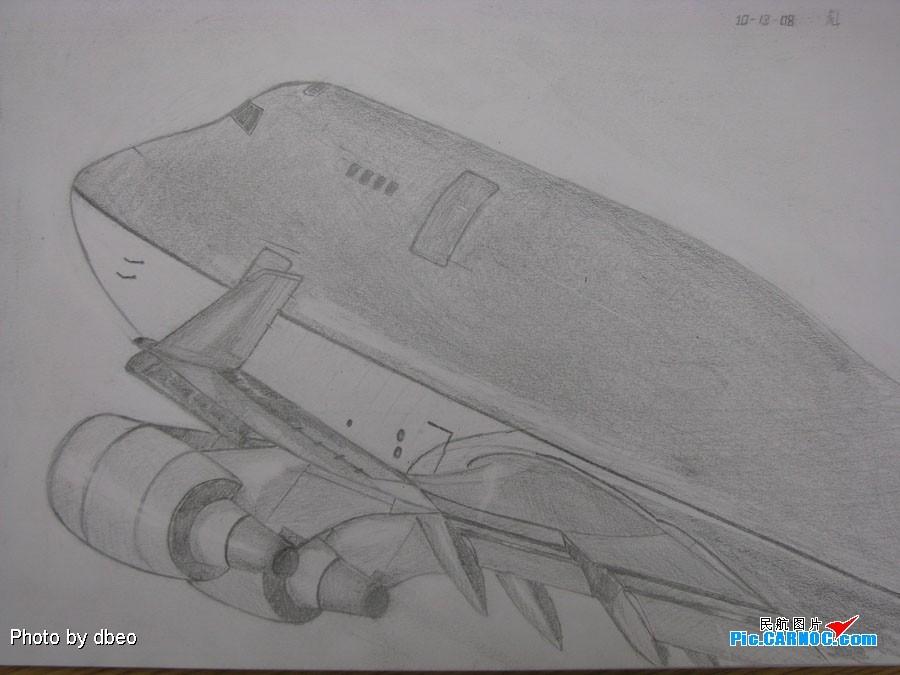 [原创]747的大头 BOEING 747-400