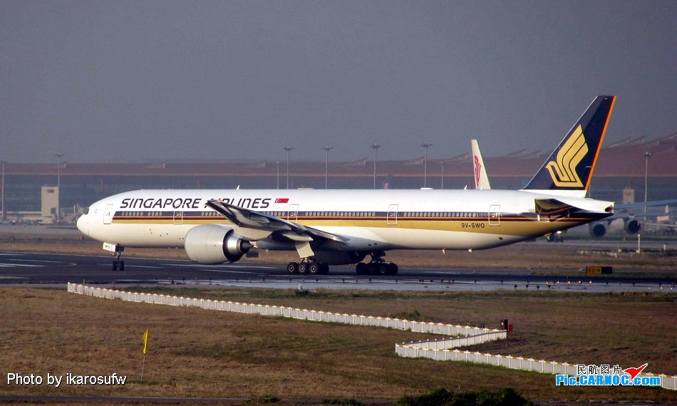 Re:再发四张新加坡航空777-300ER BOEING 777-300ER 9V-SWO PEK