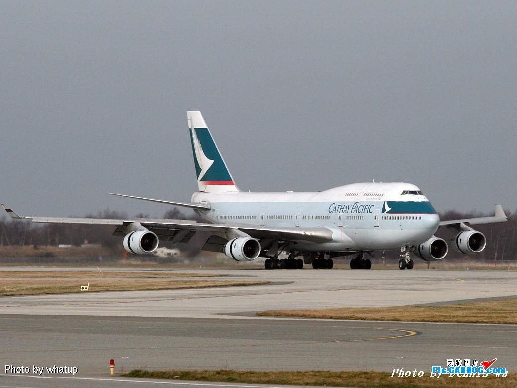 [原创]客機版的國泰747在溫哥華已經是歷史了!讓我們用圖片來紀念它的存在吧!《溫哥華朋友》 BOEING 747-467 B-HOP Canada
