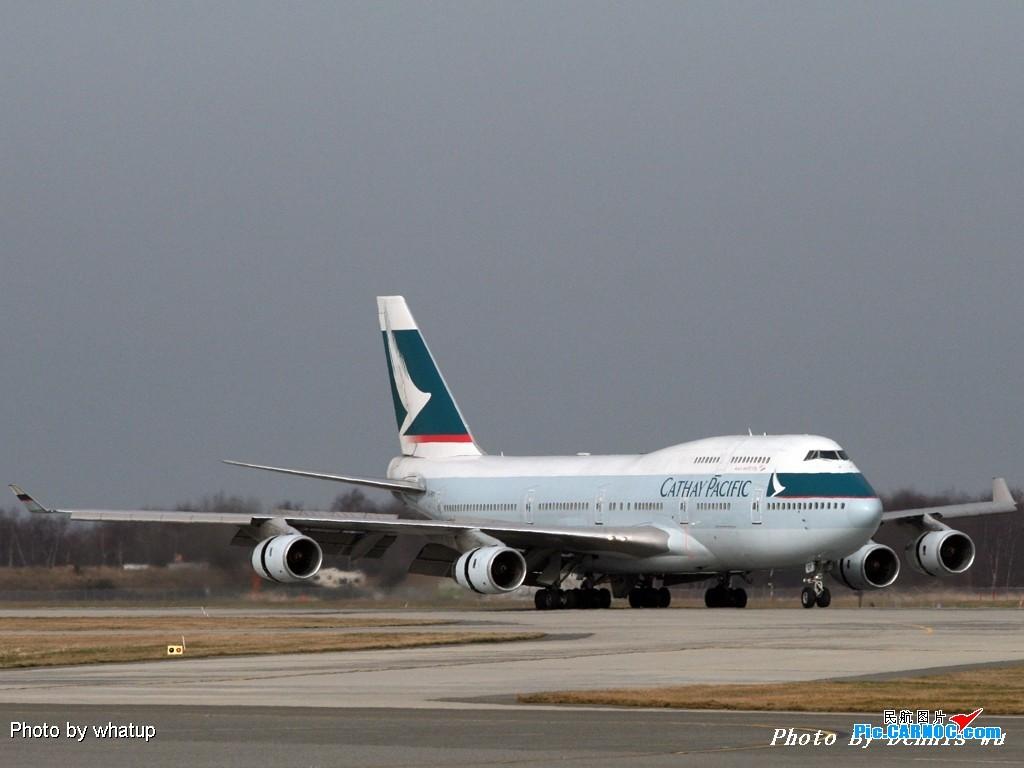 Re:[原创]客機版的國泰747在溫哥華已經是歷史了!讓我們用圖片來紀念它的存在吧!《溫哥華朋友》 BOEING 747-467 B-HOP Canada
