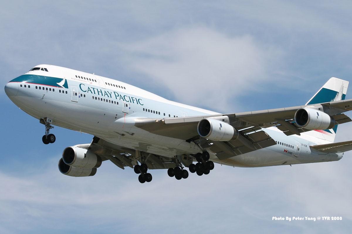 Re:[原创]客機版的國泰747在溫哥華已經是歷史了!讓我們用圖片來紀念它的存在吧!《溫哥華朋友》 BOEING 747-400 B-HOW Canada VANCOUVER INTL