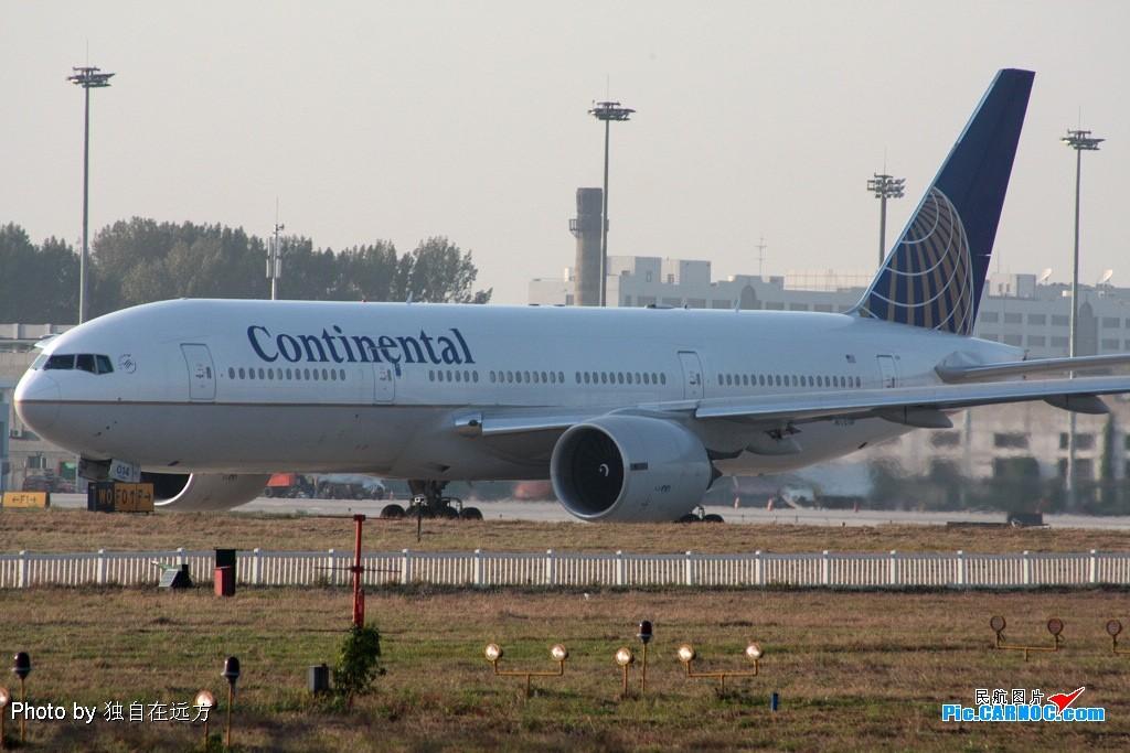 Re:单反入手第一次拍机——雾气中一天战斗在T3 BOEING 777-200 N77014 中国北京首都机场