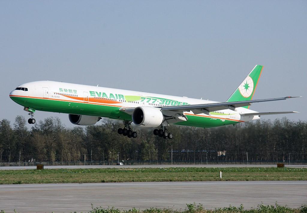 Re:两岸周末包机,难得一见的长荣航空777-300ER BOEING 777-300ER B-16702 中国北京首都机场