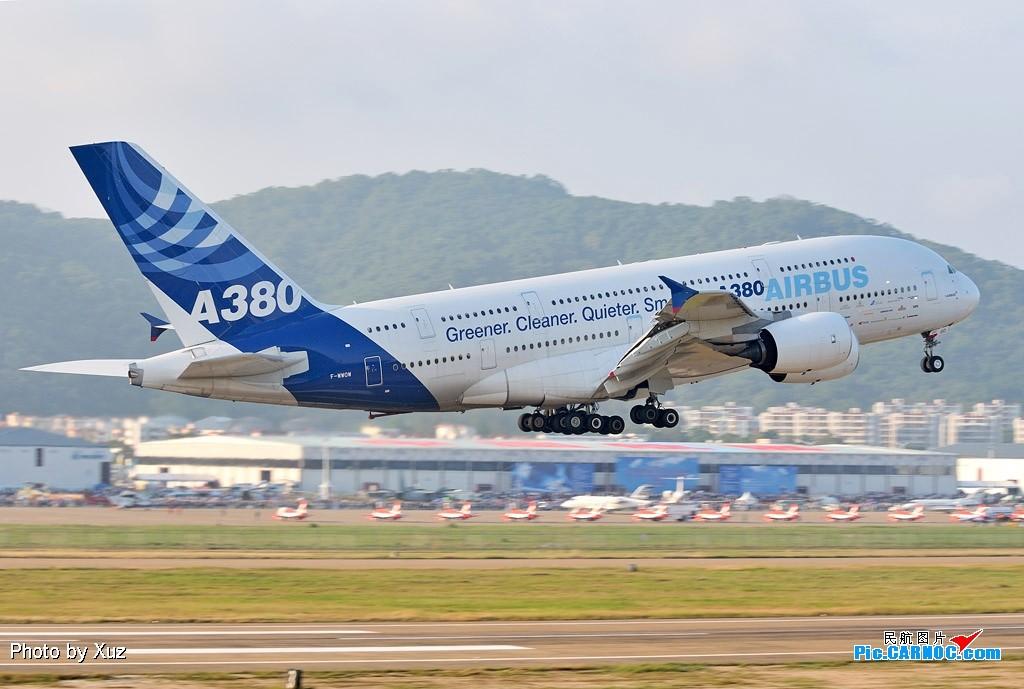 Re:[原创]老徐拍飞机- 航展之A380 AIRBUS A380 F-WWOW 中国珠海三灶机场