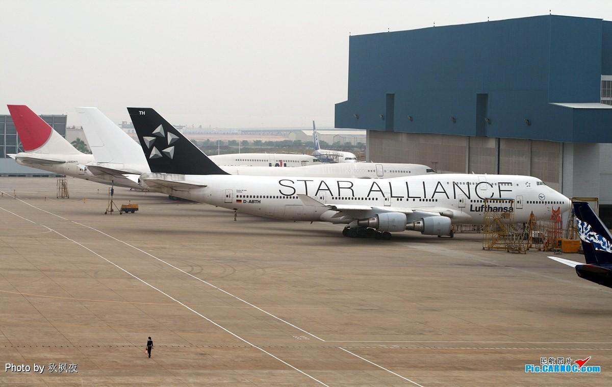 Re:[原创]《小强学飞ing》大杂烩篇——小强潜水许久,今日终可释放一下积攒的高崎与太古大灰机啦! BOEING 747-400 D-ABTH 中国厦门机场
