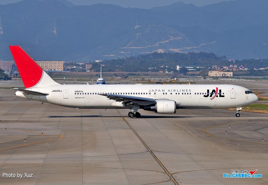 [原创]老徐拍飞机--白云罕见的好天 BOEING 767-300 JA506J 中国广州白云机场