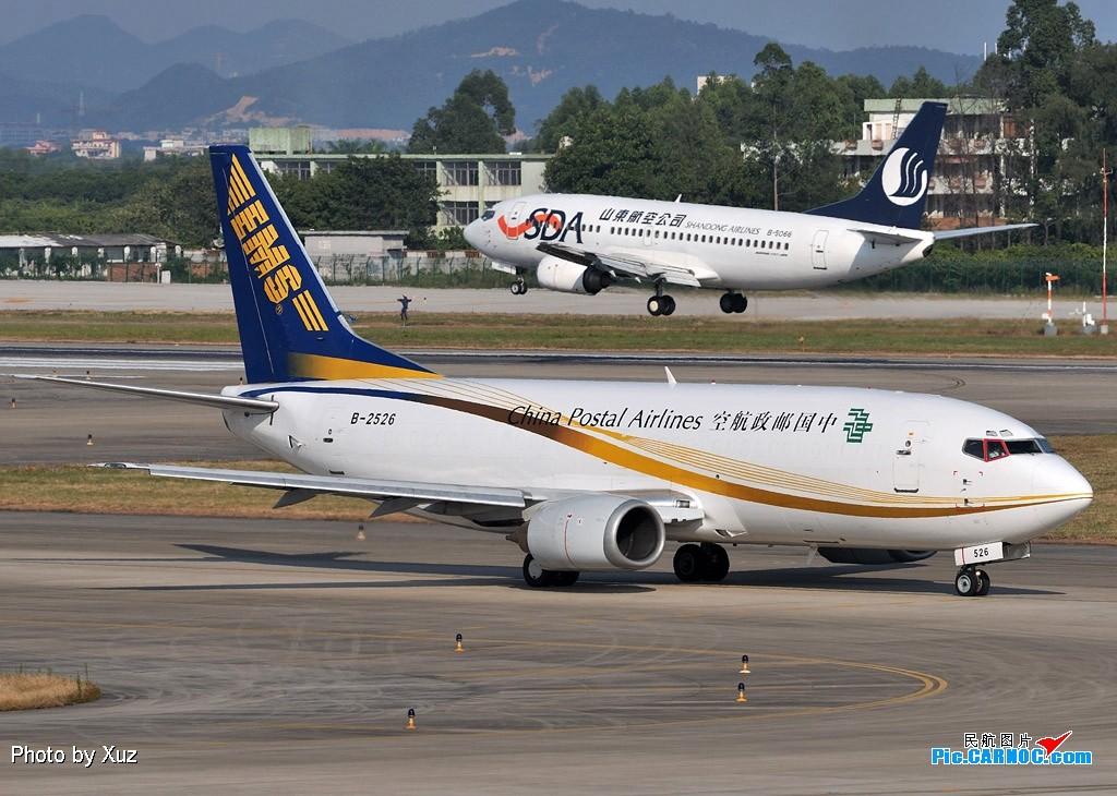 Re:[原创]老徐拍飞机--白云罕见的好天 BOEING 737-300 B-2526 中国广州白云机场