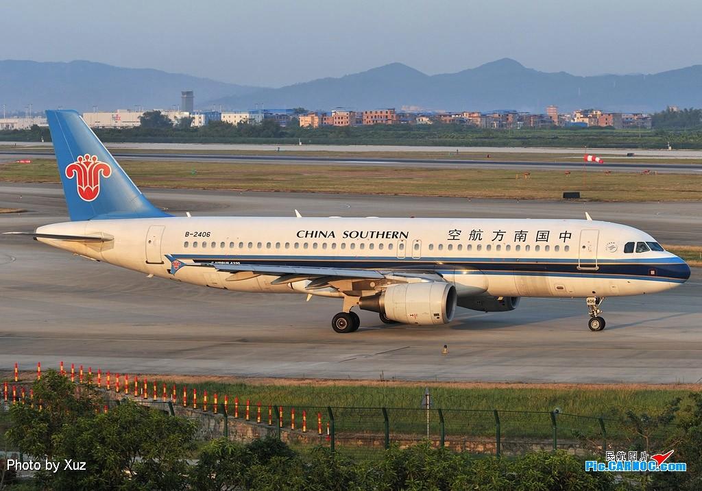 Re:[原创]老徐拍飞机--白云罕见的好天 AIRBUS A320-200 B-2406 中国广州白云机场