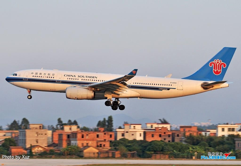 Re:[原创]老徐拍飞机--白云罕见的好天 AIRBUS A330-200 B-6059 中国广州白云机场