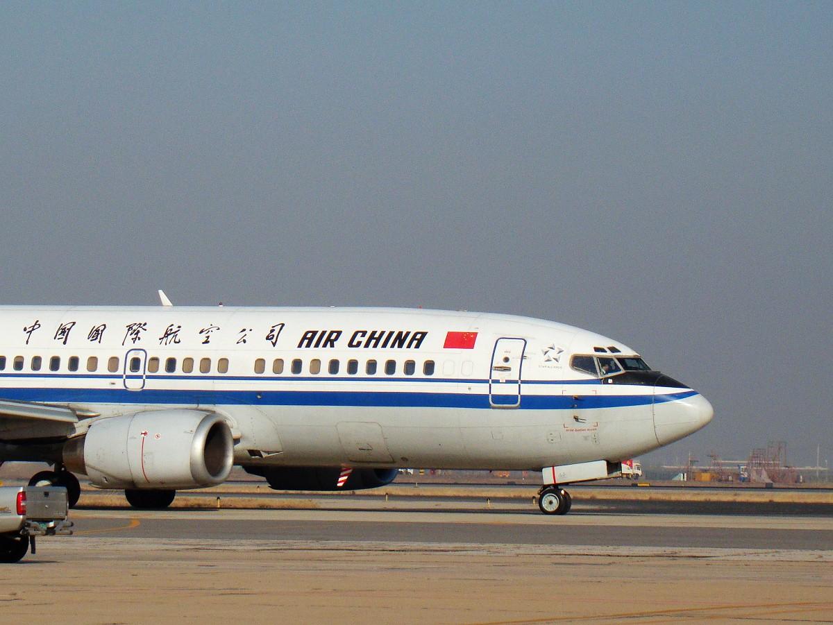 [原创]〇天津打机队〇随便拍拍 随便发发 BOEING 737-300 B-2585 中国天津滨海机场