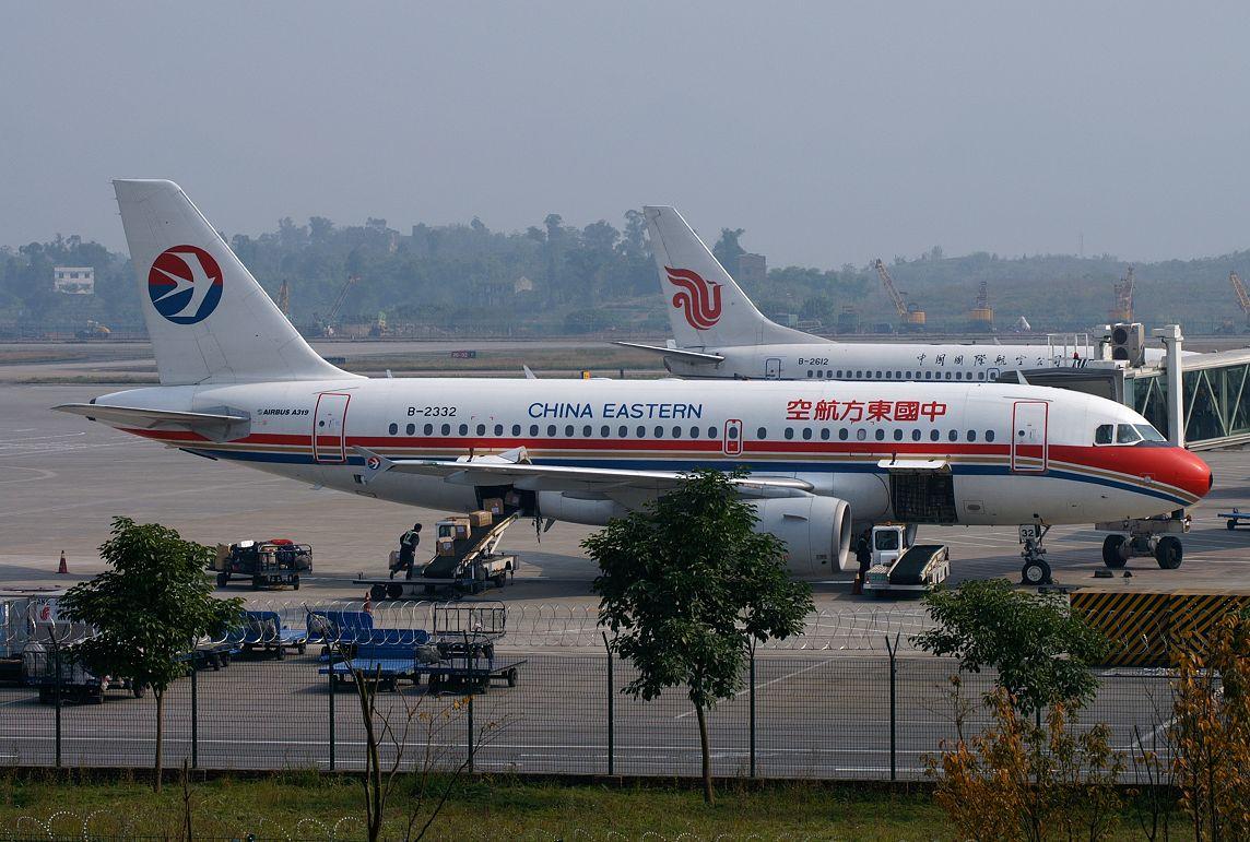 re:[原创]飞去上海看看 airbus a319-100 b-2332 中国重庆江北机场