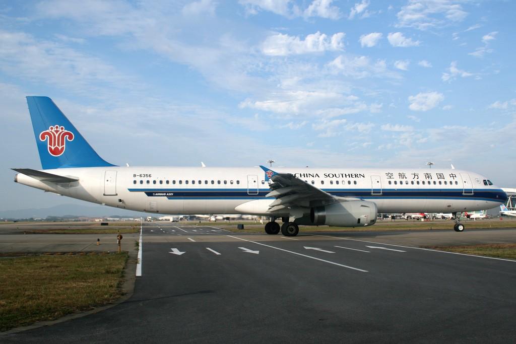 Re:[原创][CASG]蓝蓝的天空白云飘啊 AIRBUS A321-200 B-6356 中国广州白云机场