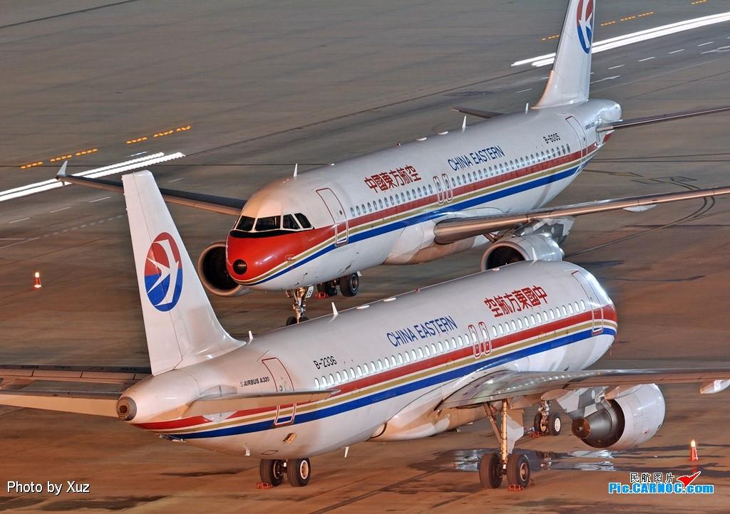 [原创]老徐拍飞机-夜景 AIRBUS A320-200 B-2336 中国上海虹桥机场