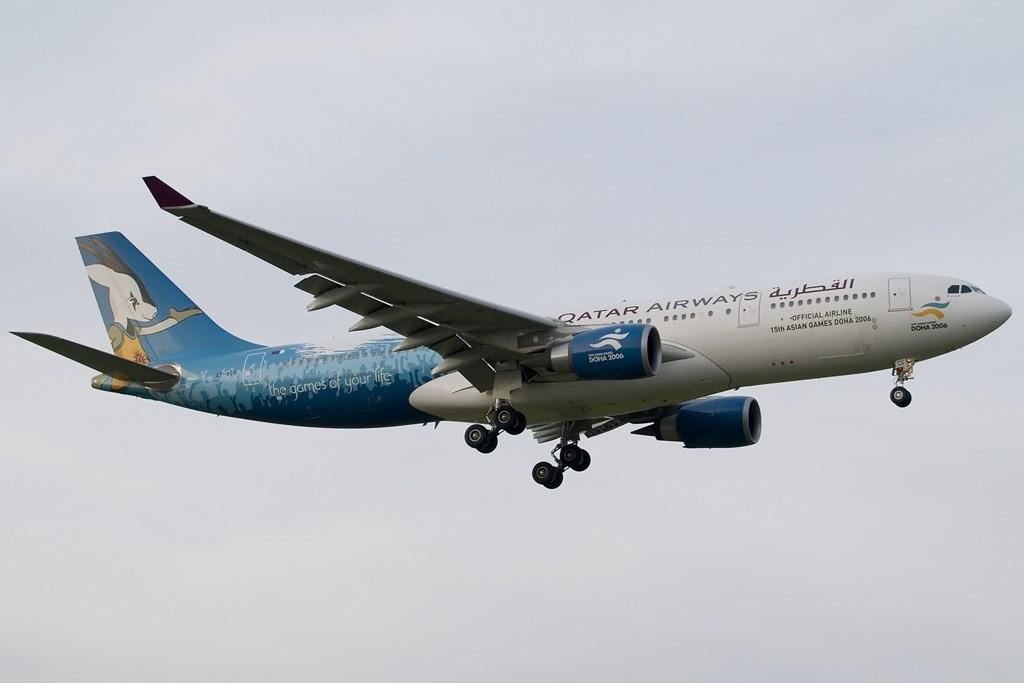 [EASU] - 卡塔尔三色奥运机 AIRBUS A330-200 A7-ACG Switzerland ZURICH