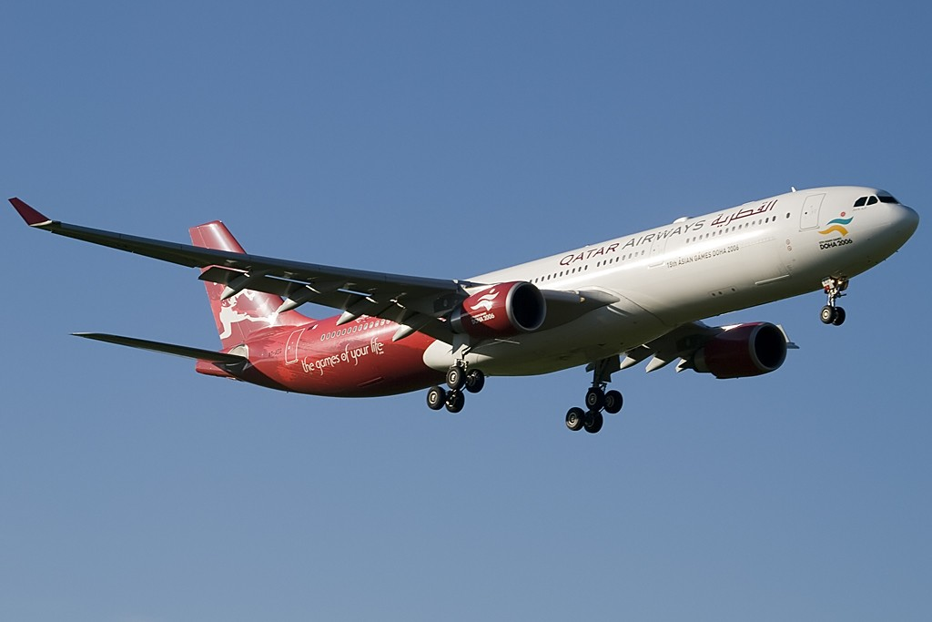 Re:[原创][EASU] - 卡塔尔三色奥运机 AIRBUS A330-300 A7-AEG Switzerland ZURICH