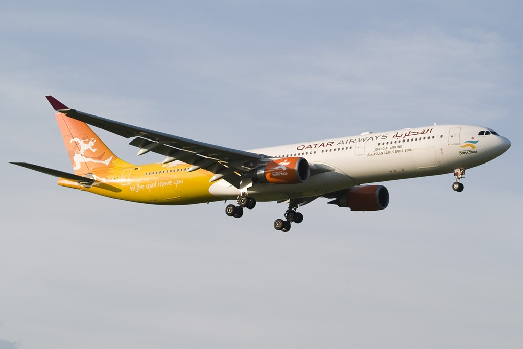 Re:[原创][EASU] - 卡塔尔三色奥运机 AIRBUS A330-300 A7-AED Switzerland ZURICH