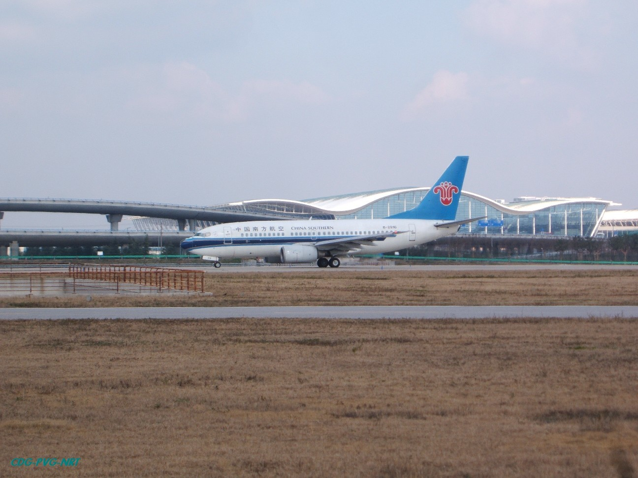 Re:新年快乐,仍然PVG BOEING 737-700 B-2916 中国上海浦东机场