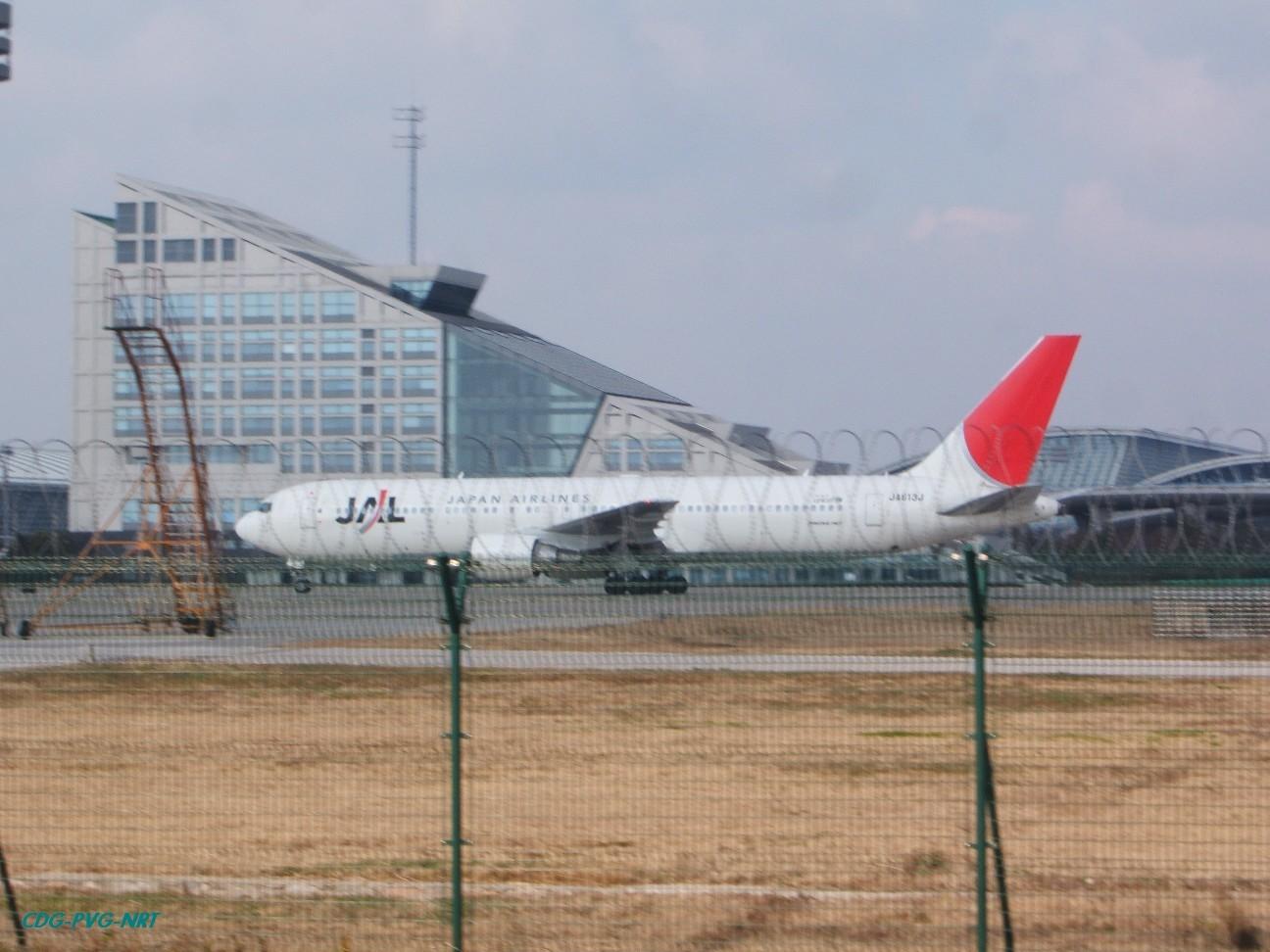 Re:新年快乐,仍然PVG BOEING 767-300 JA613J 中国上海浦东机场