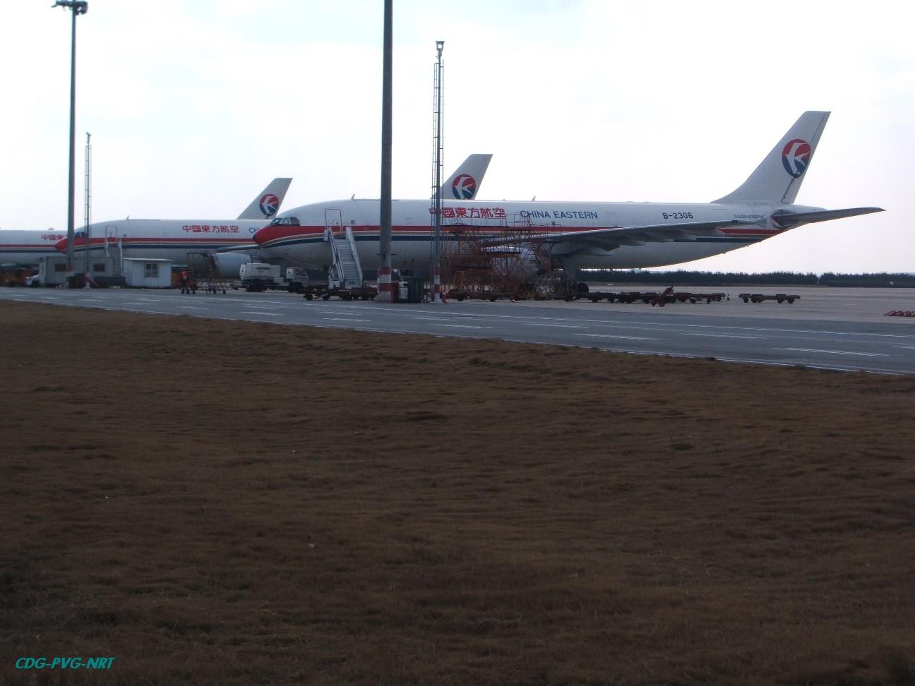 Re:新年快乐,仍然PVG AIRBUS A300-600R B-2306 中国上海浦东机场