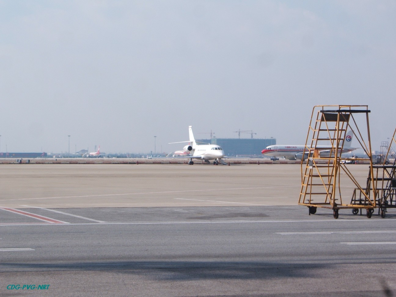 Re:新年快乐,仍然PVG   中国上海浦东机场