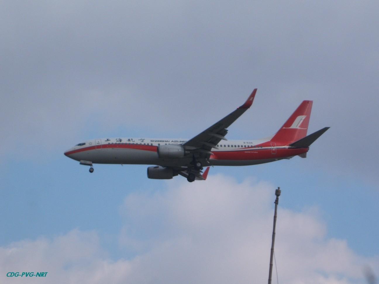 Re:新年快乐,仍然PVG BOEING 737-800 B-5315 中国上海浦东机场