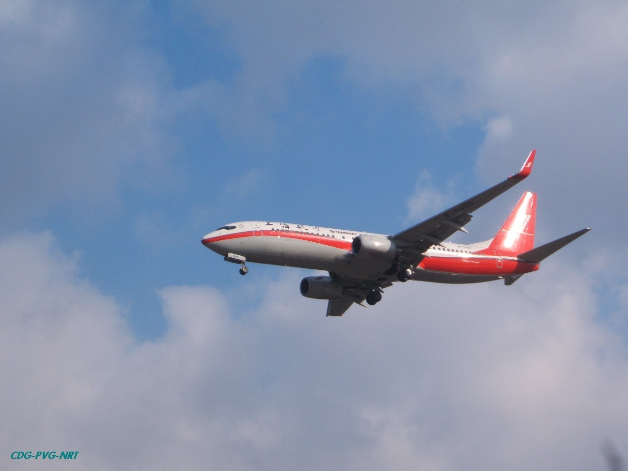 Re:新年快乐,仍然PVG BOEING 737-800 B-5369 中国上海浦东机场