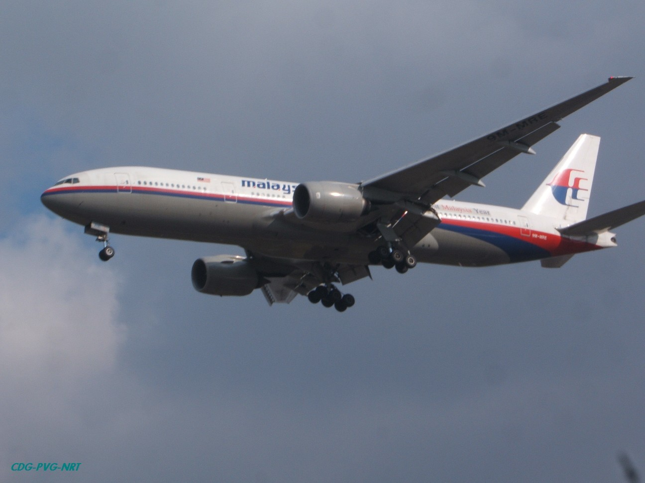 Re:新年快乐,仍然PVG BOEING 777-2H6/ER 9M-MRE 中国上海浦东机场