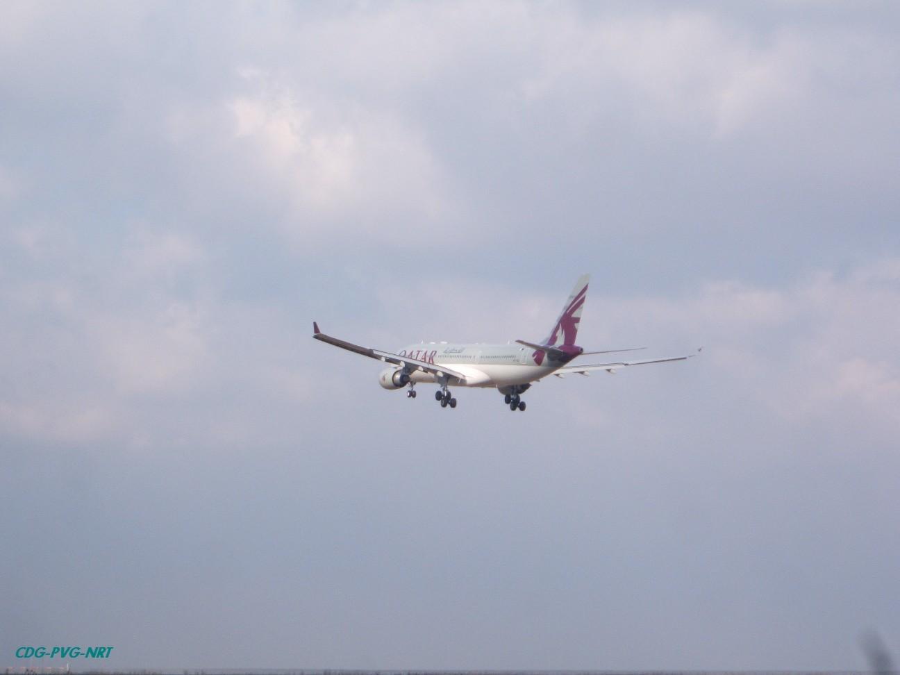 Re:新年快乐,仍然PVG AIRBUS A330-203 A7-ACC 中国上海浦东机场