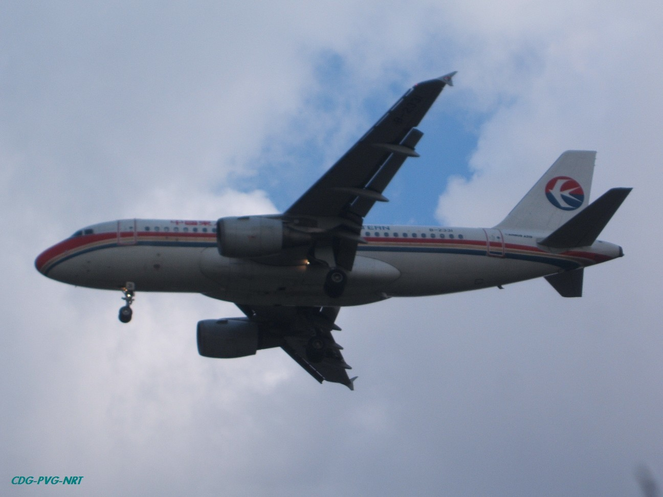 Re:新年快乐,仍然PVG AIRBUS A319-100 B-2331 中国上海浦东机场