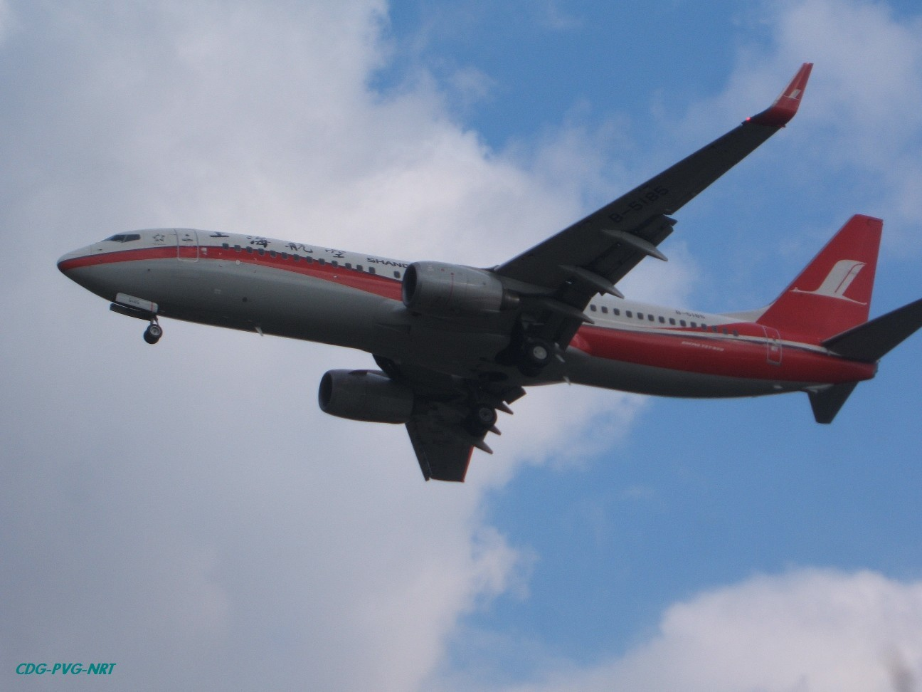 Re:新年快乐,仍然PVG BOEING 737-800 B-5185 中国上海浦东机场