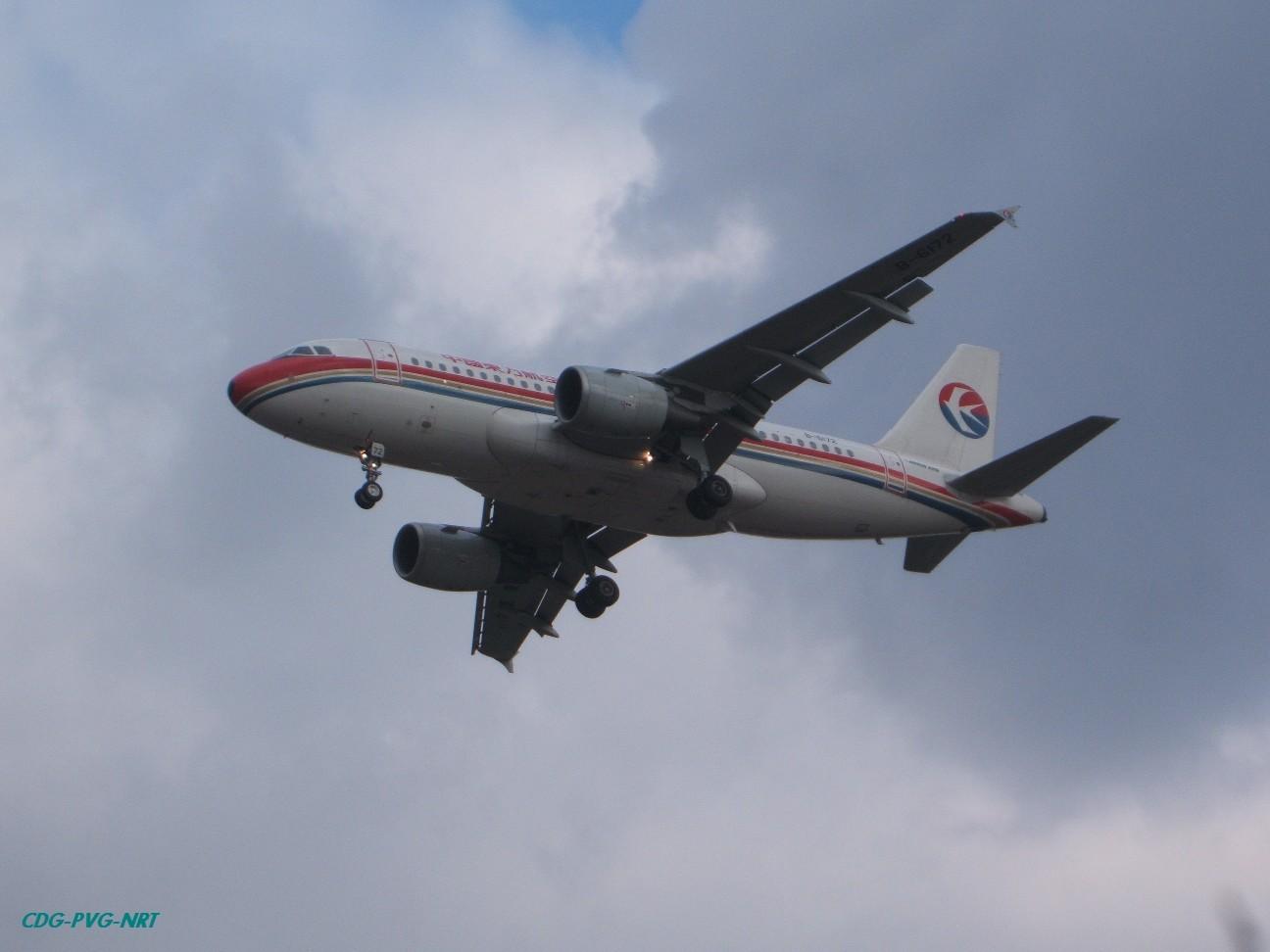 Re:新年快乐,仍然PVG AIRBUS A319-100 B-6172 中国上海浦东机场