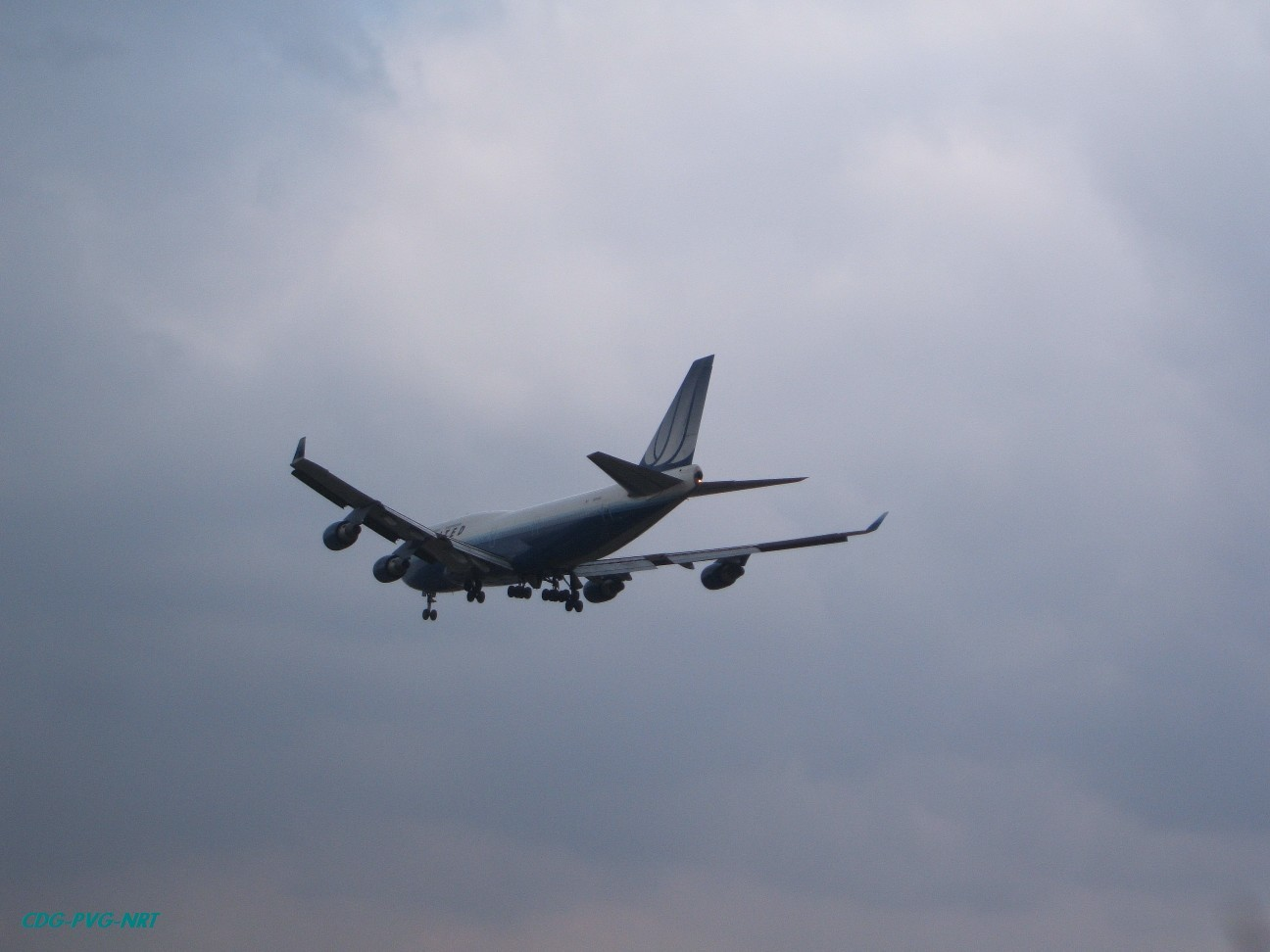 Re:新年快乐,仍然PVG BOEING 747-400  中国上海浦东机场