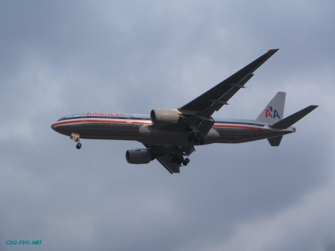 Re:新年快乐,仍然PVG BOEING 777-200  中国上海浦东机场