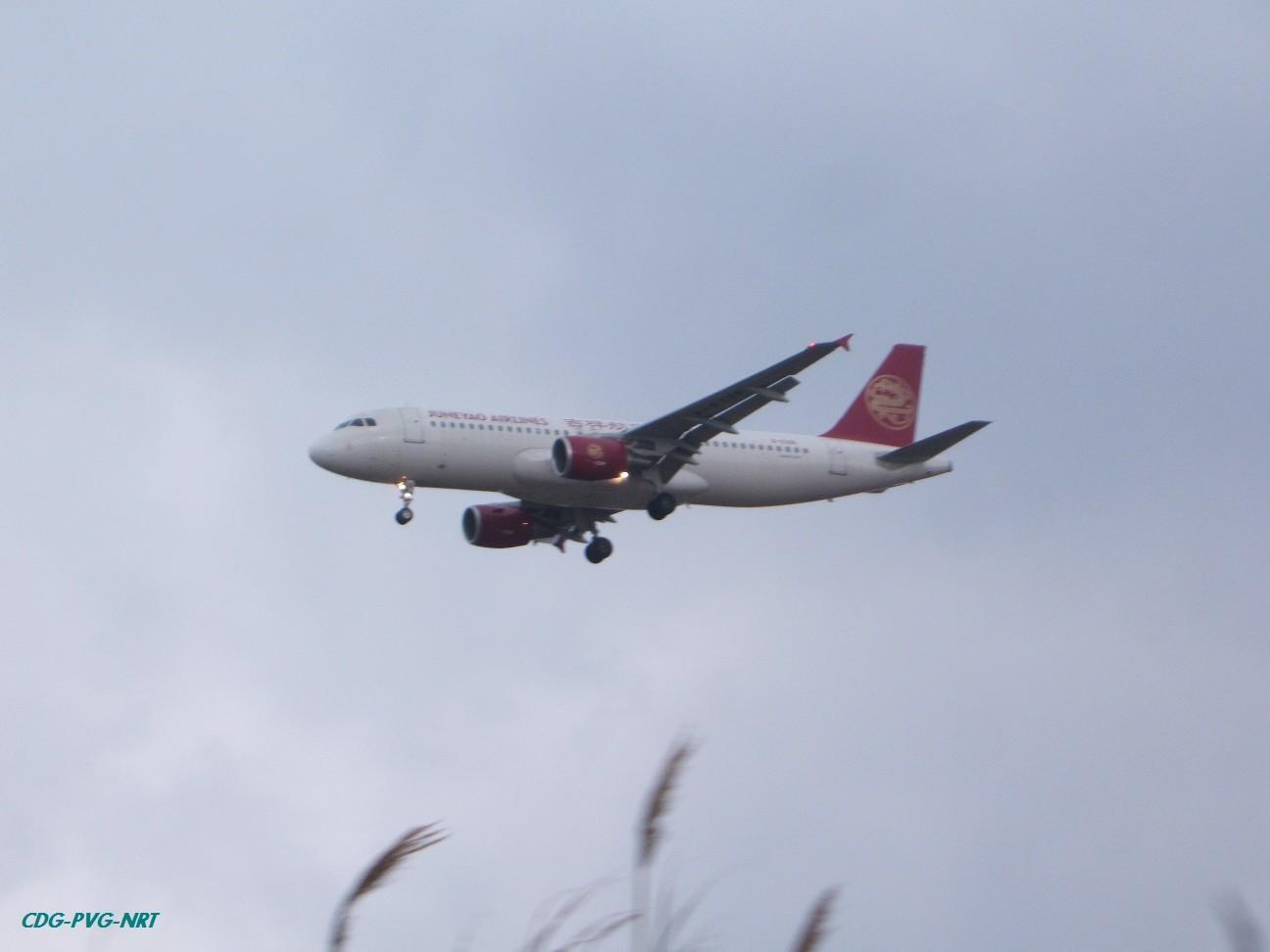 Re:新年快乐,仍然PVG AIRBUS A320  中国上海浦东机场