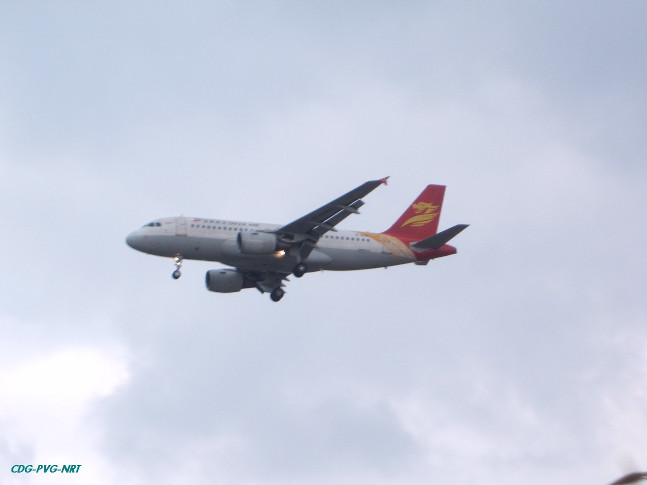 Re:新年快乐,仍然PVG AIRBUS A319  中国上海浦东机场