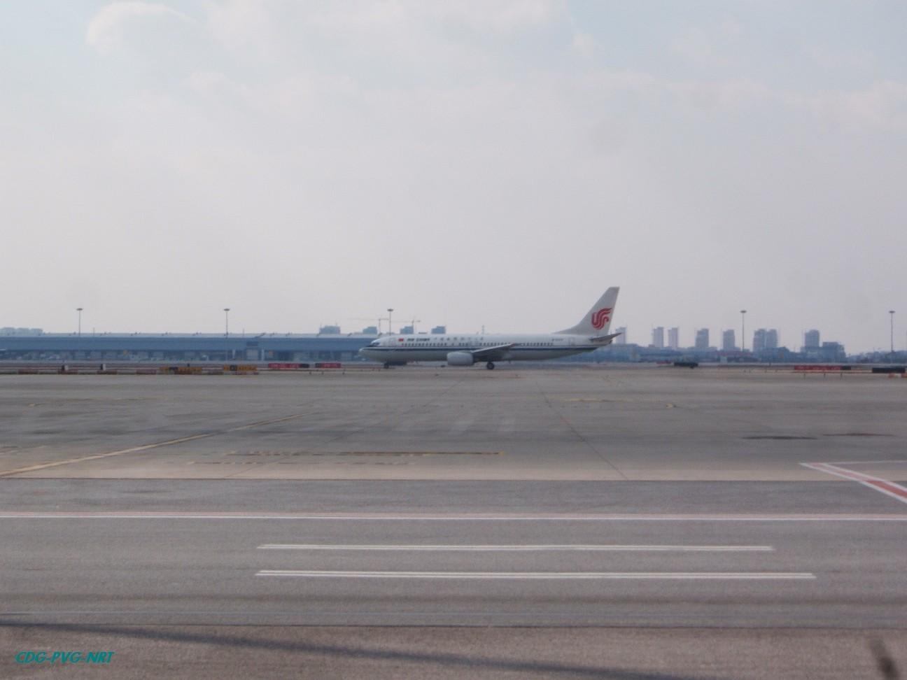Re:新年快乐,仍然PVG BOEING 737-800  中国上海浦东机场