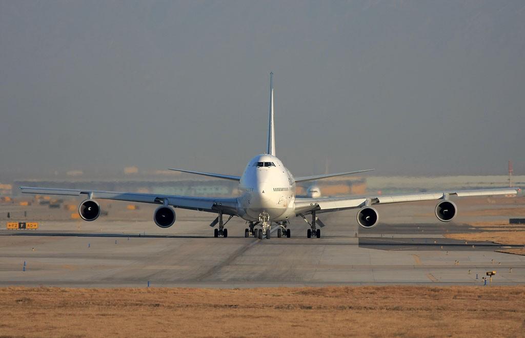 伊朗航空747SP BOEING 747SP EP-IAA 中国北京首都机场