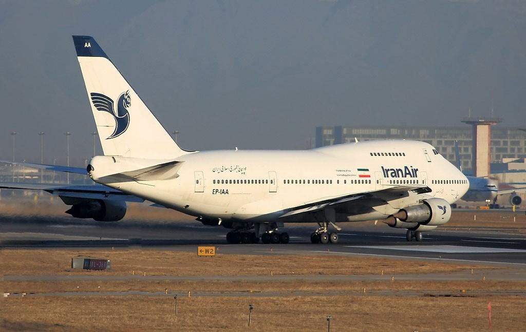 Re:[原创]伊朗航空747SP BOEING 747SP EP-IAA 中国北京首都机场