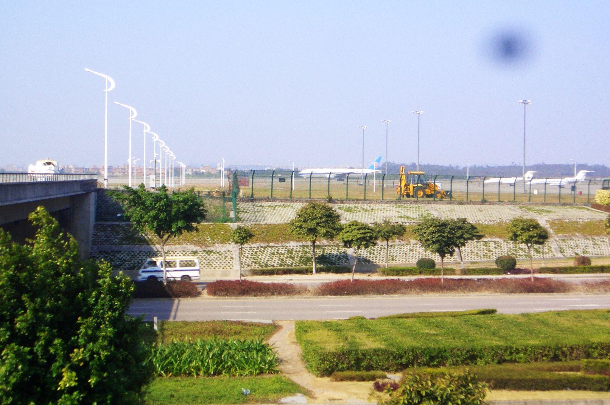 Re:[原创]恢复信心后的第一次发帖,09年第一次活动    中国广州白云机场