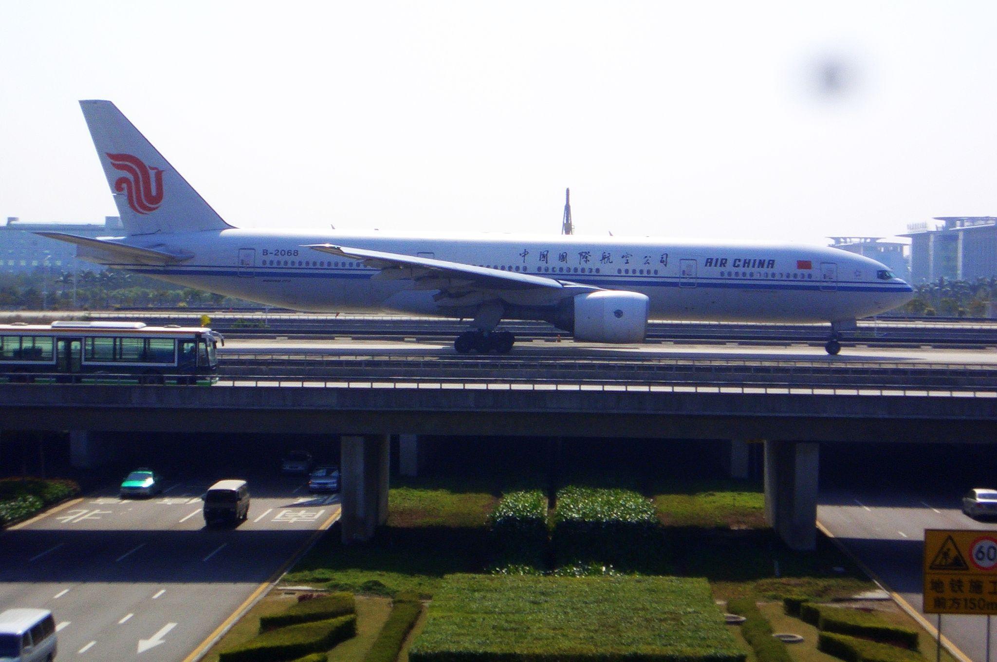 Re:[原创]恢复信心后的第一次发帖,09年第一次活动 BOEING 777-200 B-2068 中国广州白云机场
