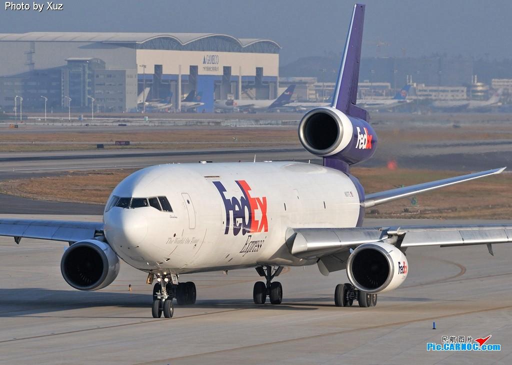 [原创]老徐拍飞机 - Welcome to GuangZhou, FEDEX MCDONNELL DOUGLAS MD-11 N607FE 中国广州白云机场