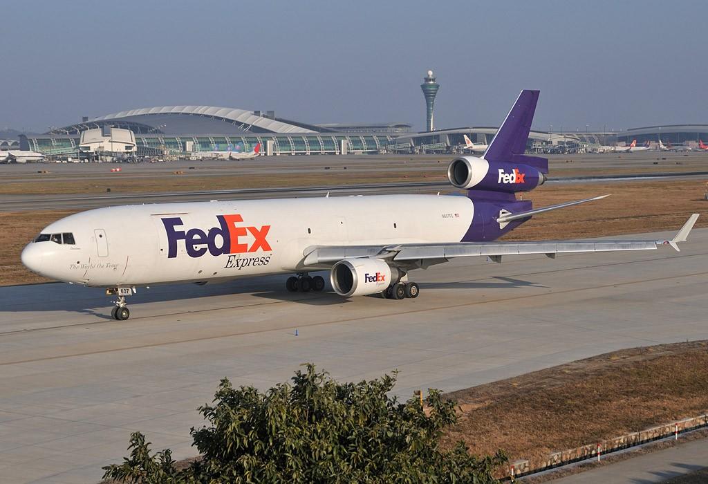 Re:[原创]老徐拍飞机 - Welcome to GuangZhou, FEDEX MCDONNELL DOUGLAS MD-11 N607FE 中国广州白云机场