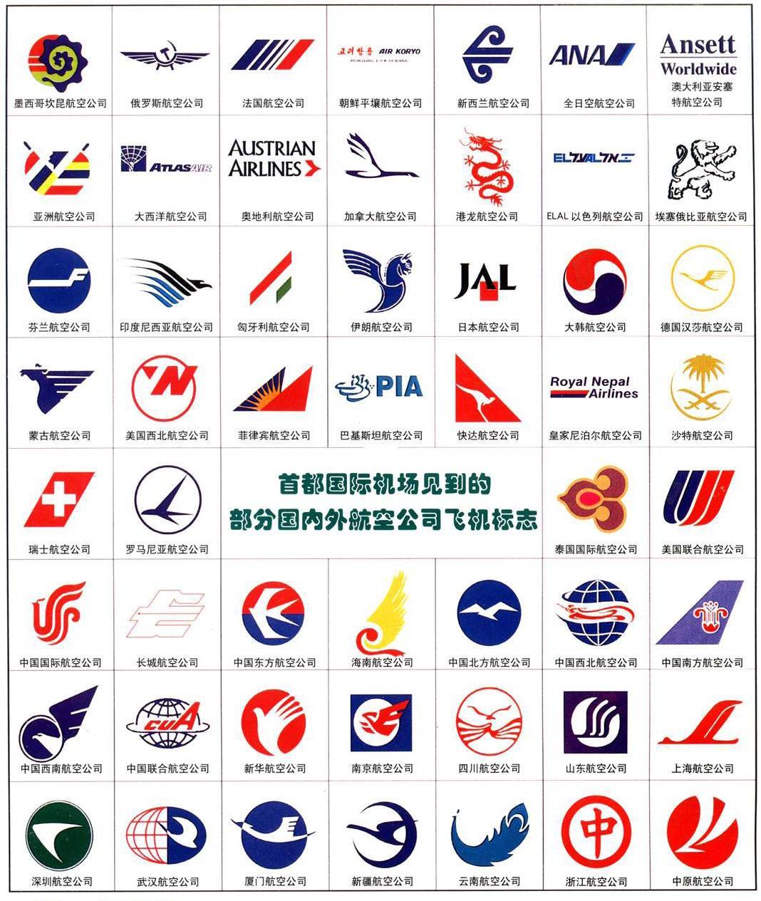 >>[资料][航空公司标志图]