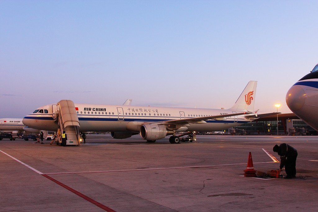 [原创]上帝回归,PEK-SHE-NKG AIRBUS A321-200 B-6382 中国北京首都机场