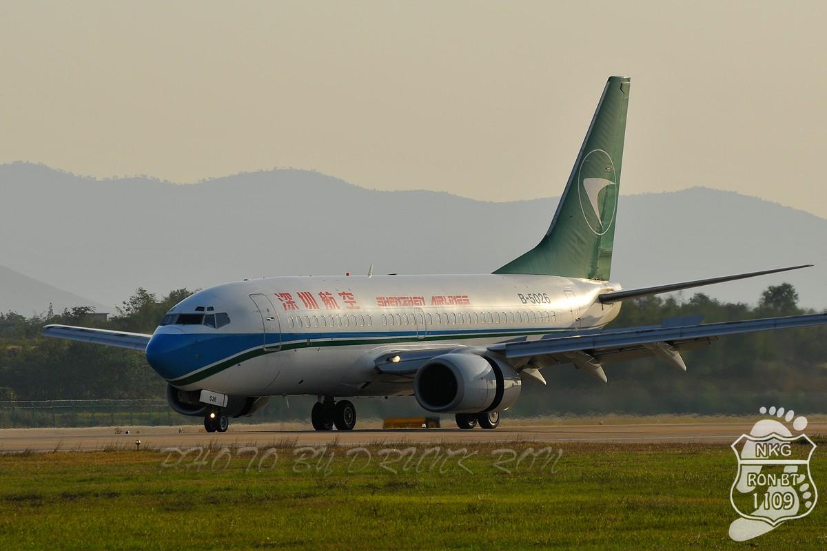 Re:NKG~地景天成 BOEING 737-700 B-5026 中国南京禄口机场