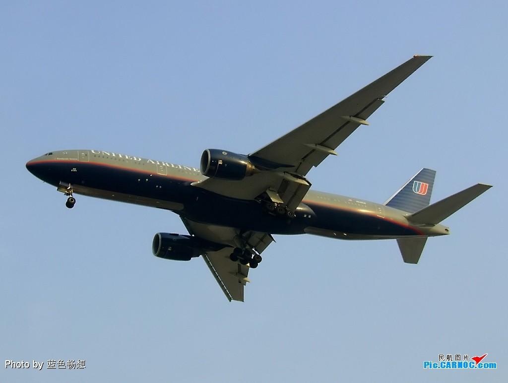 Re:<绝世痴飞>来几张山姆大叔吧,夕阳下的老美联色彩上跟他们总统有一拼啊 BOEING 777-200 N784UA 中国北京首都机场
