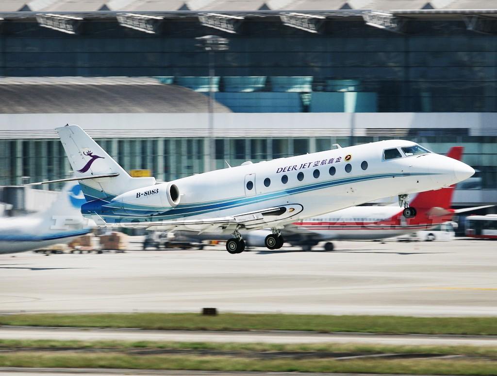 Re:[原创]全方位的CTU.(时间:06-08) GULFSTREAM AEROSPACE GULFSTREAM G200 B-8083 中国成都双流机场